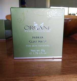 Brand New - Organi Papaya Clay Mask
