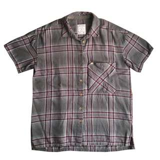 Pull & Bear Plaid Polo Top