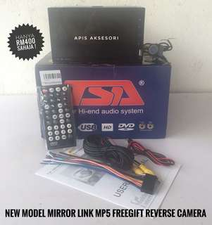 Promosi Double Din MIRROR LINK MP5 Terbaru