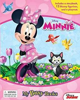 🚚 Disney Minnie Mouse My Busy Books