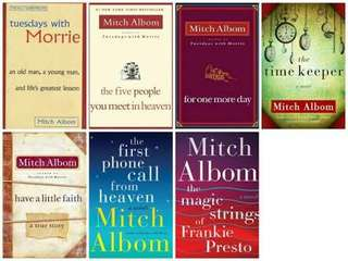 EBOOK:Mitch Albom Complete Set eBook