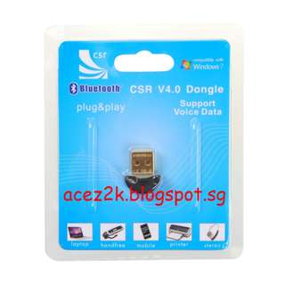 [BN] PC CSR v4.0 Bluetooth Dongle For PS4 / PS3 Controller (Brand New)