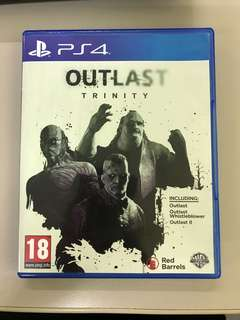 Outlast Trinity (2 CD) for PS4