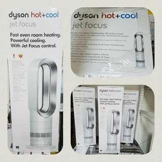 Dyson AM09 風扇暖風機 銀白色 歐洲版