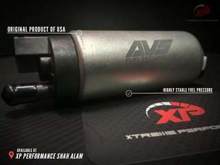 AVS fuel pump 340lph internal aem racing grams
