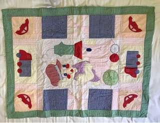 Baby Play Mat / handmade mat