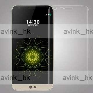 ((大量 全新)) lg g5 玻璃貼 lg g5 曲面全屏 玻璃貼 包邊 超高清 全屏幕 及弧邊 0.3mm超薄 鋼化玻璃貼 特硬 9h 不易刮花 不易碎裂 包郵 LG G5 貼膜 (黑色,粉紅色,金色) lg g5 玻璃貼