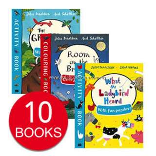 JULIA DONALDSON ACTIVITY COLLECTION (10 BOOKS)