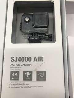 🚚 Sjcam sj4000 air WiFi 4k 正版 僅拆封使用過一次 求交換sjcam m20或sjcam sj5000x elite