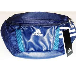 Adidas Sports Running Travel Training Waist Hip Bag Pouch Blue