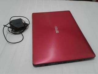 asus X453 5th gen slim laptop makinis windows 10 os