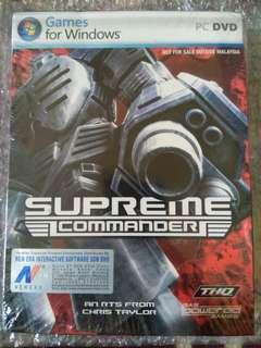 [NEW OLD STOCK] Supreme Commander PC