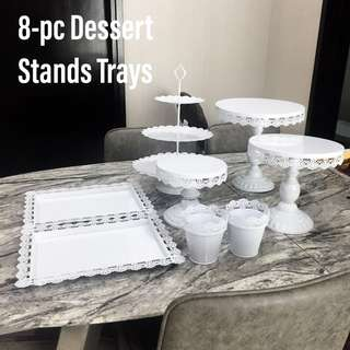 Dessert Tray Stands for Rental Rent