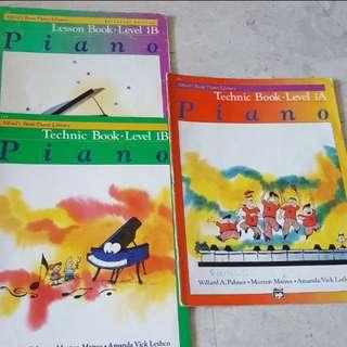 Alfred piano books