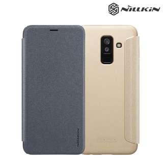 Galaxy A6 Plus 2018 SM-A6050 NILLKIN 星韻 翻蓋保護殼 翻頁皮套Case 0724A