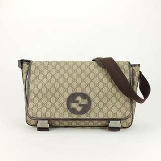 Gucci Canvas GG Supreme Messenger Bag