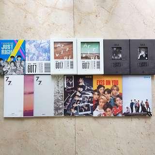 [WTT/WTS] GOT7 Albums