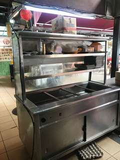 Stall things for sale (all one set) selling cheap refrigerator cooker