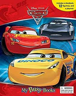 🚚 Disney/Pixar Cars 3 My Busy Book