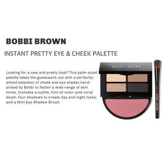 Exclusive BOBBY BROWN Eye & Cheek Palette