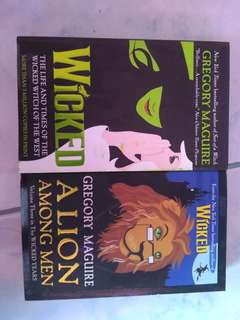 PRELOVED BOOKS (WICKED BOOK 1 AND 3)