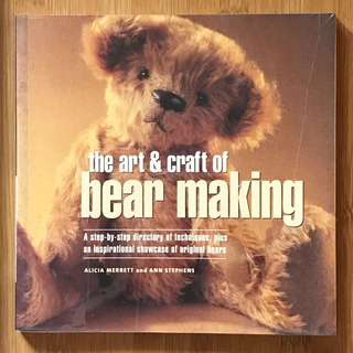 Paperback - The Art and Craft of Bear Making