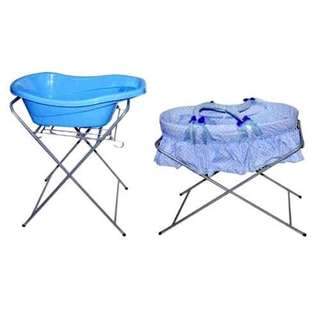 2 in 1 Bath stand or for Moses basket