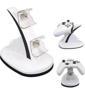 (188) Ovio XBOX ONE/XBOX ONE S Charging Stand / Charging Dock - White