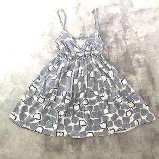 🚚 $1 Grey Patterned Dress
