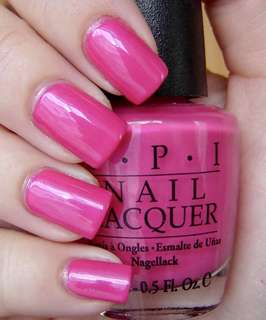 Jual OPI nail polish — La Paz-itively hot