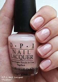 Jual OPI nail polish —- passion