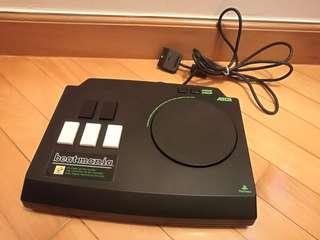 (95% new) PS1 Playstation Beatmania Konami 摔碟制
