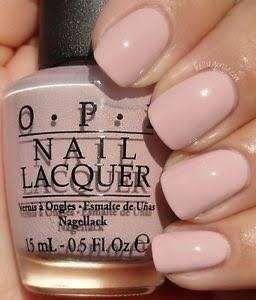 OPI nail polish— my very first knockwurst
