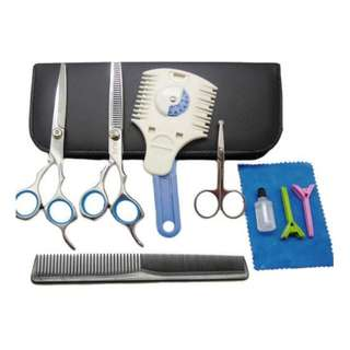 Alfie Pet 9-Piece Dog Cat Grooming Scissors Razor Trimmer Set