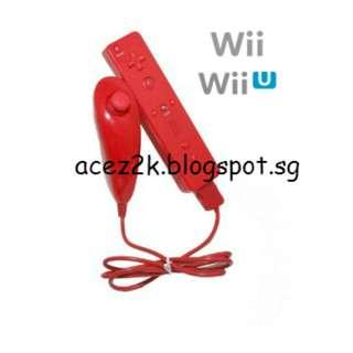 [BN] Wii Remote & Nunchuck - White (Brand New)