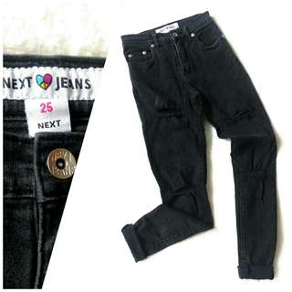 SIZE 22-23 NEXT JEANS • Distressed/ripped jeans