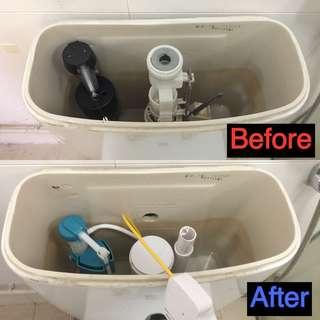 Toilet bowl cistern repair CALL 81339461