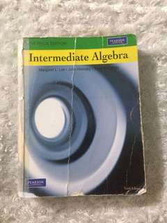 Intermediate Algebra by Lial, Hornsby and McGinnis