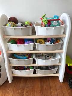 Pre loved Toy Organizer/ Rack