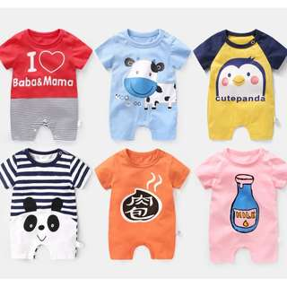 🚚 Assorted Baby Rompers. Many designs