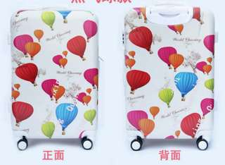 "BALOON DESIGN PC LUGGAGE 20"" 24"" 28"""