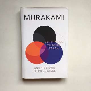Colorless Tsukuru Tazaki and His Years of Pilgrimage by Haruki Murakami (Hardcover)