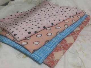 Four cute bubble-pop hijab for only 500 pesos!