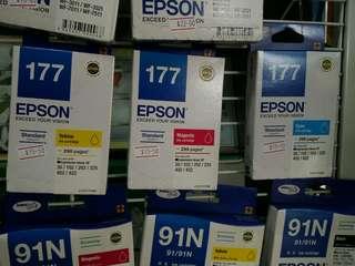 Epson 177 ink cartridges