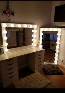 Sale! Vanity set with Whole body mirror