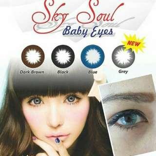 Sky soul baby eye