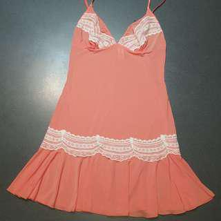 Peach Lace Sleepdress!