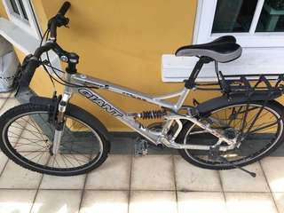 "Giant Rock Mountain Bike 16"" front suspension"
