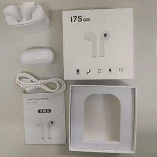 New HBQ i7S TWS Twins Wireless Earbuds Mini Bluetooth V4.2 Earphone Charging Box