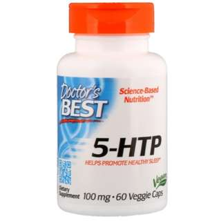 Doctor's Best Best 5-HTP 100 mg // 60 Veggie Caps